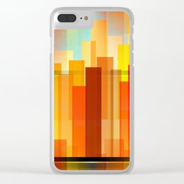 City Heights Clear iPhone Case