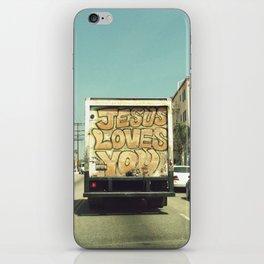 Love in Los Angeles iPhone Skin