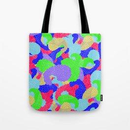 Multicolor Paisleys  Tote Bag
