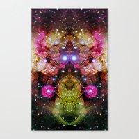 interstellar Canvas Prints featuring Interstellar by Mark Kriegh