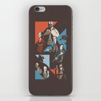 pain iPhone & iPod Skins featuring Pain by Florey