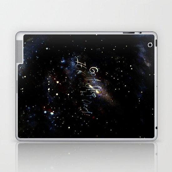 go to sleep,it'll be okay Laptop & iPad Skin