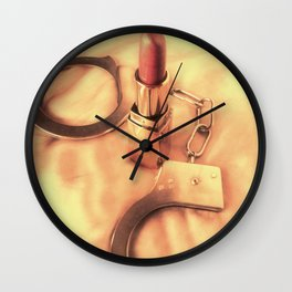 The Woman's In Charge! Wall Clock