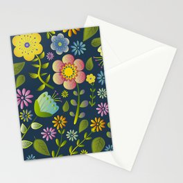 Petty Floral Pattern 1 Stationery Cards