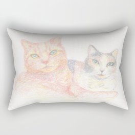 Duncan and Coleco Rectangular Pillow
