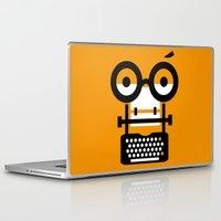 typewriter Laptop & iPad Skins featuring typewriter by oguzhan