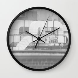 duct Wall Clock