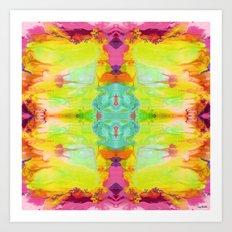 Artful-Chic Art Print