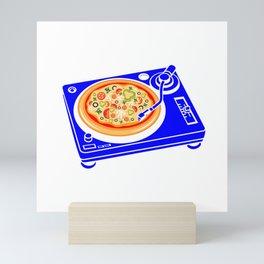 Pizza Scratch Mini Art Print