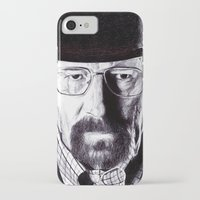 heisenberg iPhone & iPod Cases featuring Heisenberg  by DeMoose_Art