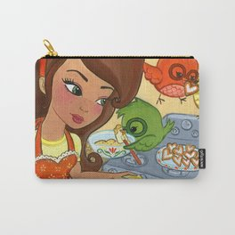 Sugar Chirps Carry-All Pouch
