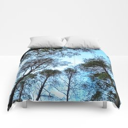 Forest view Comforters