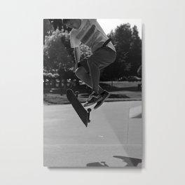 Varial Kickflip Metal Print