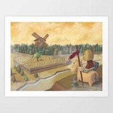 don chisciotte Art Print