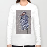 storm Long Sleeve T-shirts featuring Storm by Mayacoa