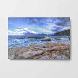Elgol, Isle of Skye Metal Print