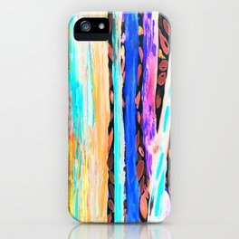 Rainbow Eucalyptus Graffiti artist tree Tries to get ready for the Fall Autumn iPhone Case
