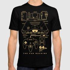 N64 X-LARGE Mens Fitted Tee Black