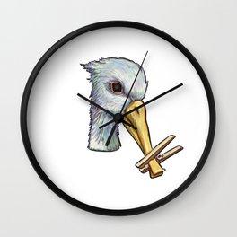 Rx Quack by KPC Studios Wall Clock