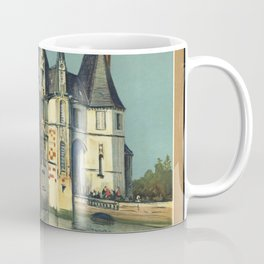 Normandy 01 - Vintage Poster Coffee Mug