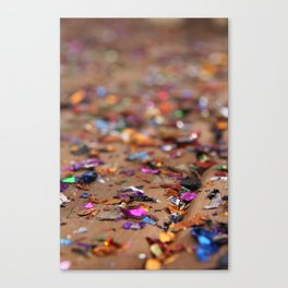 Glitter II Canvas Print