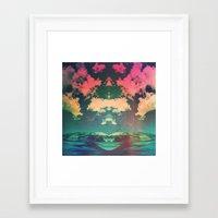 atlas Framed Art Prints featuring Atlas by Daniel Montero