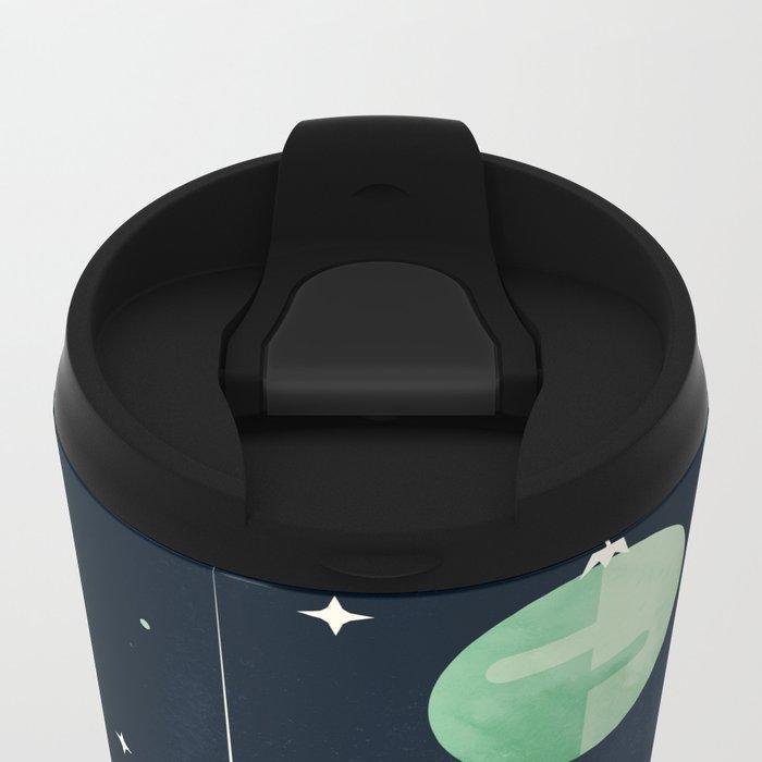 Joy to the Universe Metal Travel Mug