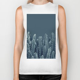 Blue Cacti Dream #1 #minimal #decor #art #society6 Biker Tank