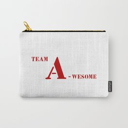 Team A awesome Carry-All Pouch