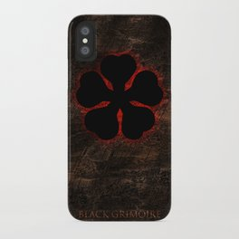 Black Clover iPhone Case