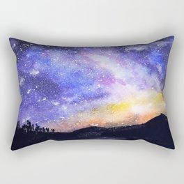 Starry Galaxy Rectangular Pillow