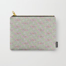 Soft Vintage Floral Tapestry Carry-All Pouch