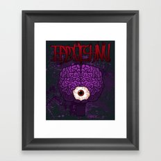 Brainy Framed Art Print