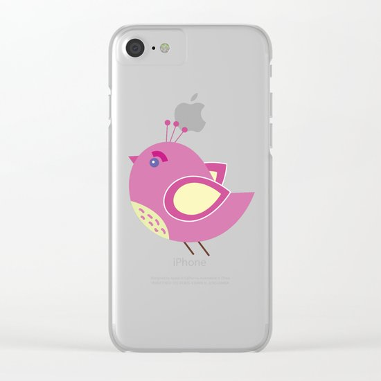 Cute Pattern 6 Clear iPhone Case