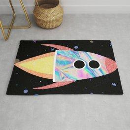 Holographic Rocket Rug