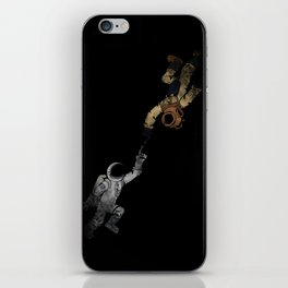 In to the Deep iPhone Skin