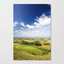 Dorset countryside Canvas Print