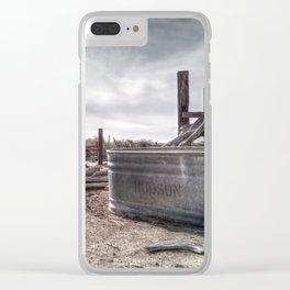Hudson Tank Clear iPhone Case