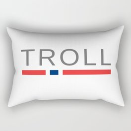 Troll Norway Rectangular Pillow