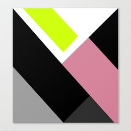 Imperfect Geometry Canvas Print