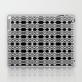 Arrows and Diamond Black and White Pattern 2 Laptop & iPad Skin