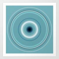 Robin's egg blue   Art Print