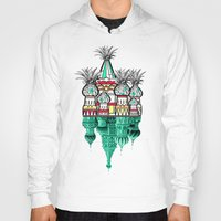 architecture Hoodies featuring Pineapple architecture  by AmDuf
