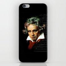 Beethoven - Music Demon iPhone & iPod Skin