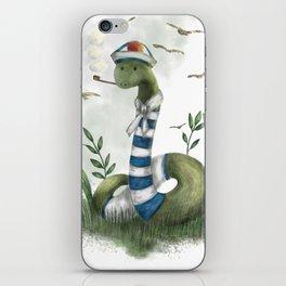 the marin snake iPhone Skin