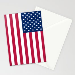 Flag of USA - American flag, flag of america, america, the stars and stripes,us, united states Stationery Cards