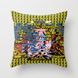 One Part Flesh, One Part Life, One Part Sentience Throw Pillow
