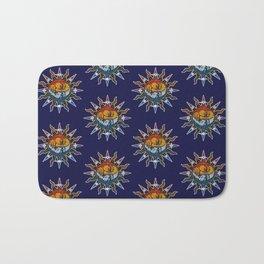 Celestial Mosaic Sun and Moon Bath Mat
