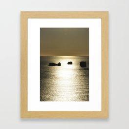 Islands in the sun. Framed Art Print