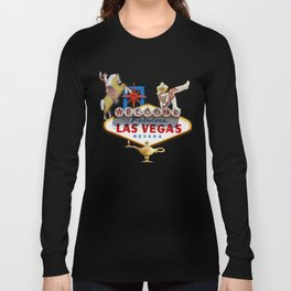 Las Vegas Welcome Sign Long Sleeve T-shirt